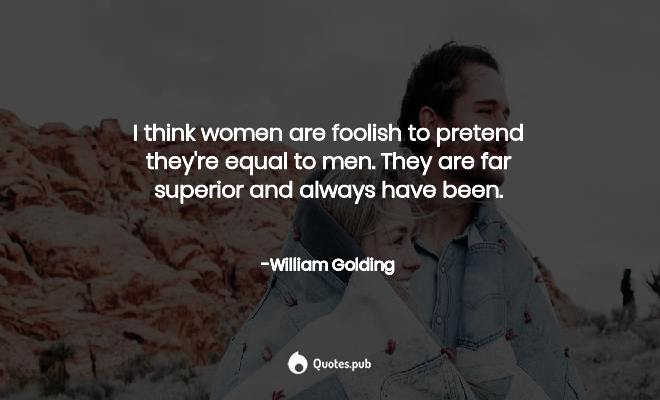 On women golding william GOLDEN THOUGHTS: